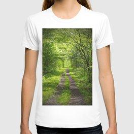 Trail Through Green Woods T-shirt