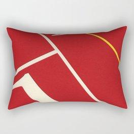 Running Track 123 Rectangular Pillow