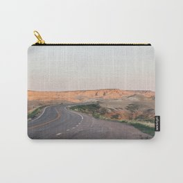 Road to the Badlands Carry-All Pouch