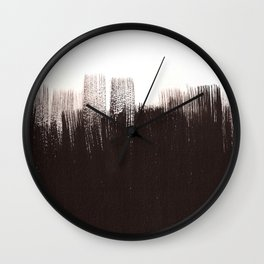 B&W Wall Clock