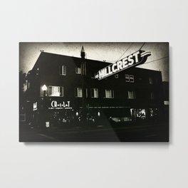 Chocolat Noir Metal Print