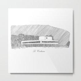 Le Corbusier Metal Print