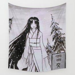 Yuki-Onna Wall Tapestry