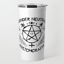 Gender Neutral Witchcraft Travel Mug