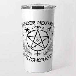 Gender Neutral Witchcraft Travel Mug