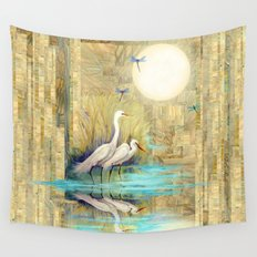 Nature Reflected Series: Local Life Wall Tapestry