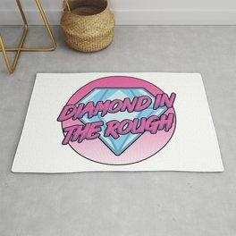 Diamond in the rough Rug