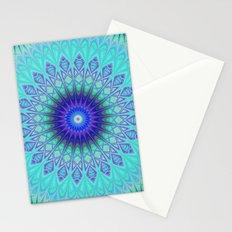 Frozen mandala Stationery Cards