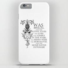 Alice In Wonderland Jabberwocky Poem Slim Case iPhone 6s Plus