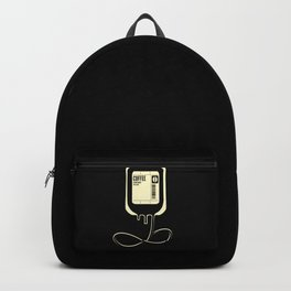 Coffee Transfusion - Black Backpack