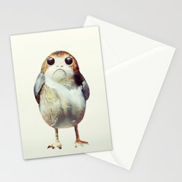 Porg on Ahch-To Stationery Cards