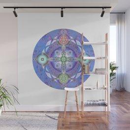 Deepest Peace Healing Meditation Mandala Wall Mural