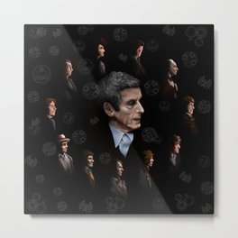 All Doctor Who Regeneration iPhone 4 4s 5 5s 5c, ipod, ipad, pillow case and tshirt Metal Print