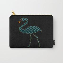 Botanical Flamingo Carry-All Pouch