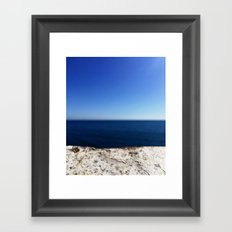 Blue Hues Framed Art Print