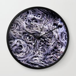 Abstract wood texture Wall Clock