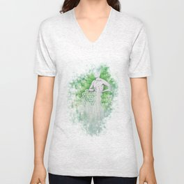 Love as Pain - Anahata in the heart Unisex V-Neck
