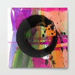 Enso No.305B by Kathy Morton Stanion Metal Print