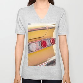 Tail Lights Unisex V-Neck