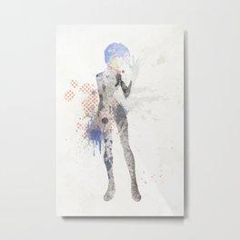 Rei. Metal Print