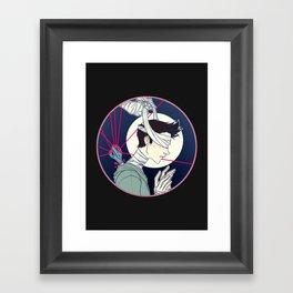 nogitsune Framed Art Print