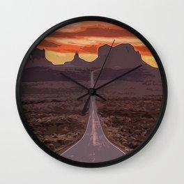 Arizona, Monument Valley Wall Clock