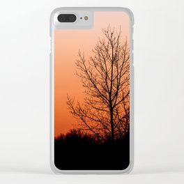 Setting Silhouette Clear iPhone Case