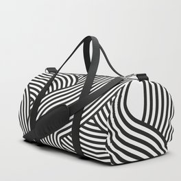 Moving lines Duffle Bag