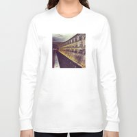 subway Long Sleeve T-shirts featuring Subway by wendygray