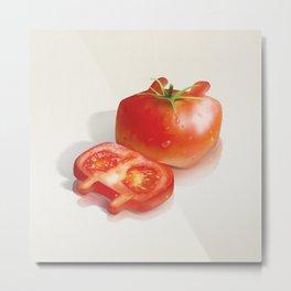 XiaoTieJun Tomato Metal Print