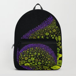 Paths of Color [green & purple] Backpack