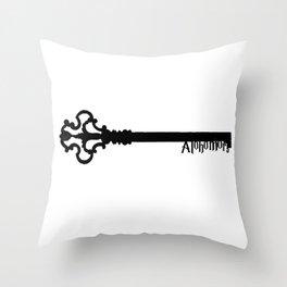 Alohomora! Throw Pillow