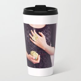 A butterfly ring Travel Mug