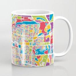 Kansas City Missouri City Map Coffee Mug