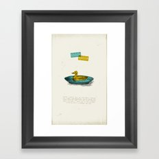 Duck Soup Framed Art Print