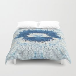 Frozen Sunset Duvet Cover