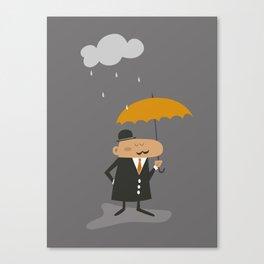 Happy Rainy Day Canvas Print
