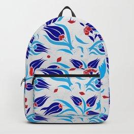 Turkish tulip pattern 7 Backpack