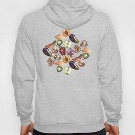 Food Pattern Hoody