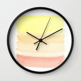 Color Blocking 28 Wall Clock