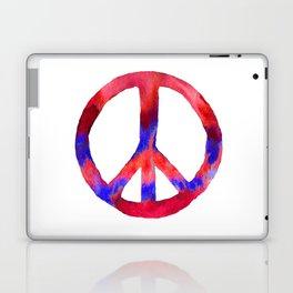 Patriotic Peace Sign Tie Dye Watercolor Laptop & iPad Skin