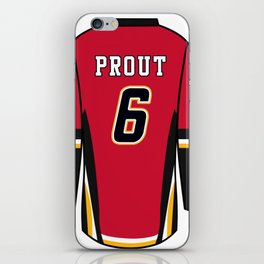 Dalton Prout Jersey iPhone Skin