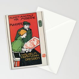 1896 Hoffman art printers Dresden Stationery Cards