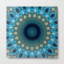 Basal Color Mandala 6 Metal Print