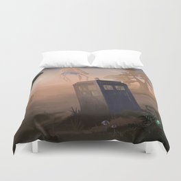 tardis dr who Duvet Cover