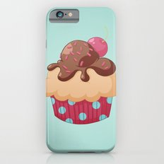 Chocolate Cupcake Slim Case iPhone 6s