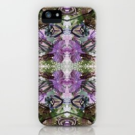 Psychedelic Positive Notes Lavender Zoom iPhone Case