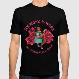 decriminalize now T-shirt