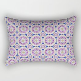 Holla for a Preppy Mandala Pattern Rectangular Pillow