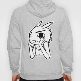 Creepy Bored Rabbit Hoody